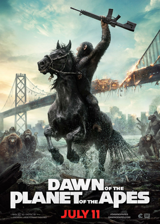 20 Dawn of the Planet of the Apes