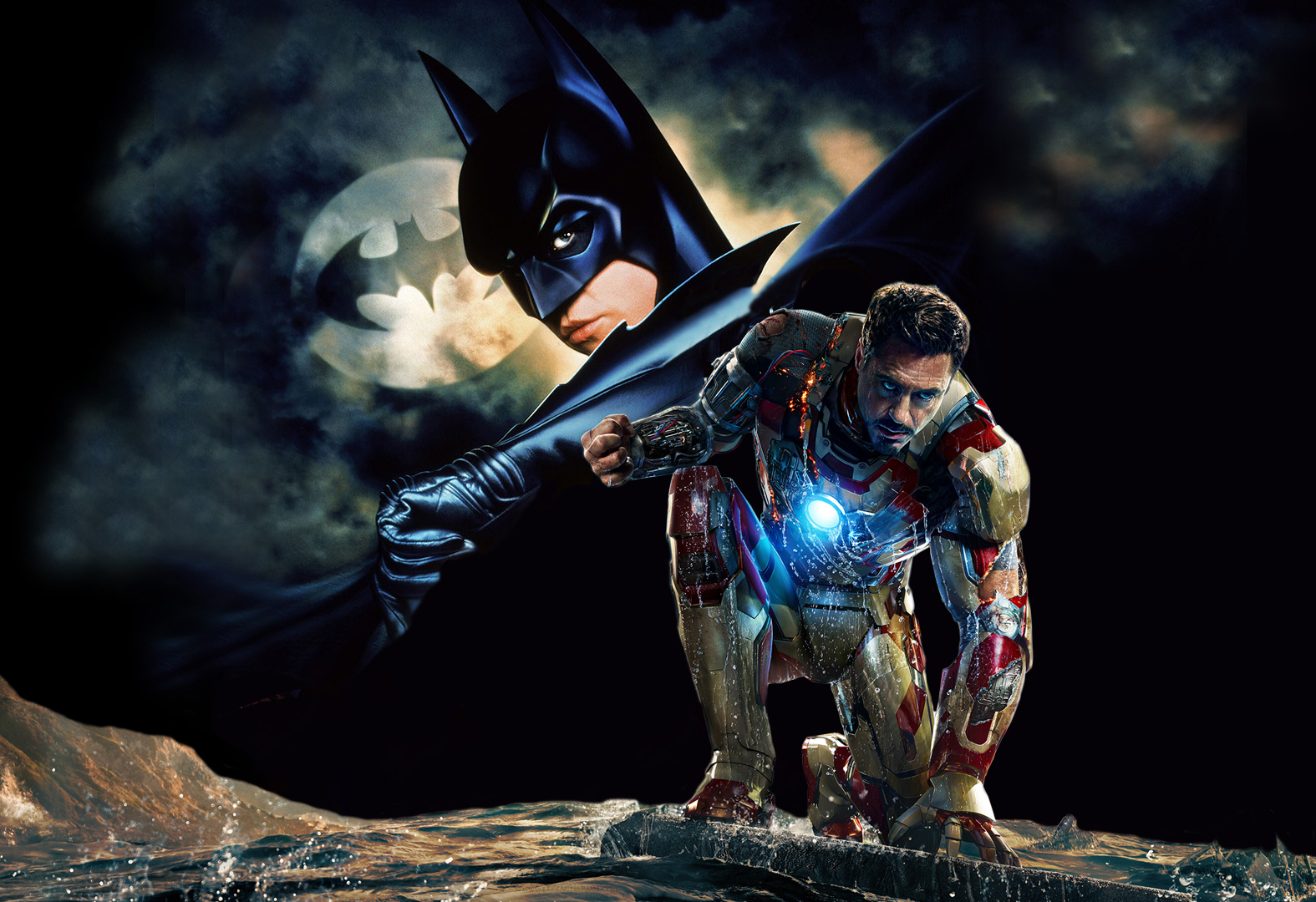 Batman vs Iron Man | Lee Zachariah