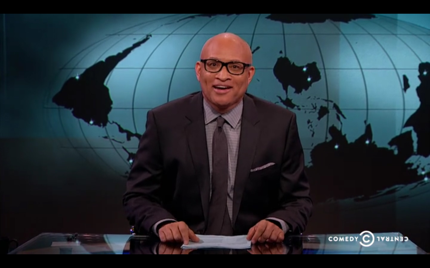 Nightly Show Australian Map